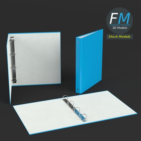 Ring binders - 3DOcean Item for Sale