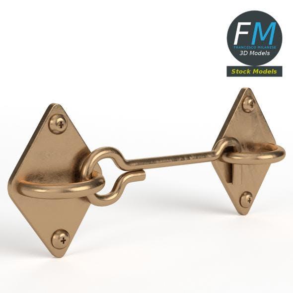 Simple door lock - 3DOcean Item for Sale