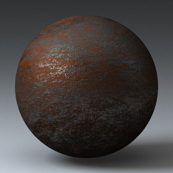 Rusty Metal Shader_001 - 3DOcean Item for Sale