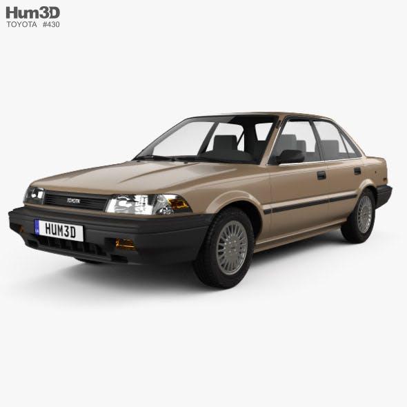 Toyota Corolla sedan 1987 - 3DOcean Item for Sale