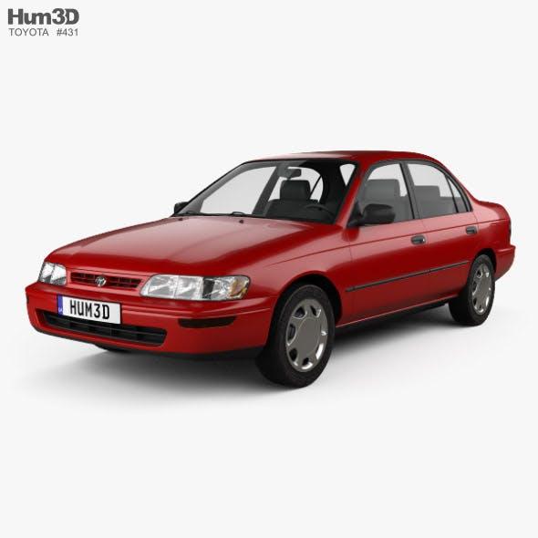 Toyota Corolla sedan 1995 - 3DOcean Item for Sale