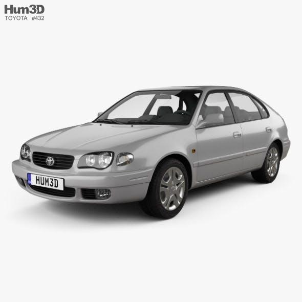 Toyota Corolla 5-door 1999 - 3DOcean Item for Sale