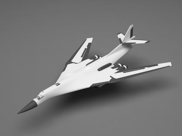 TU-160 - 3DOcean Item for Sale
