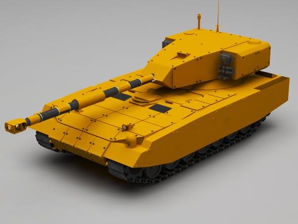 Tank - 3DOcean Item for Sale