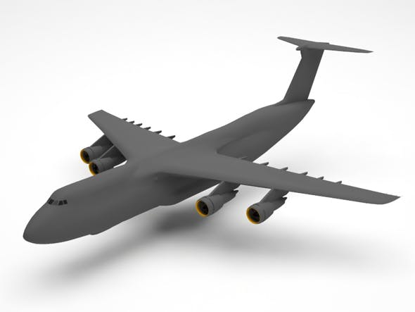 Military plane - 3DOcean Item for Sale