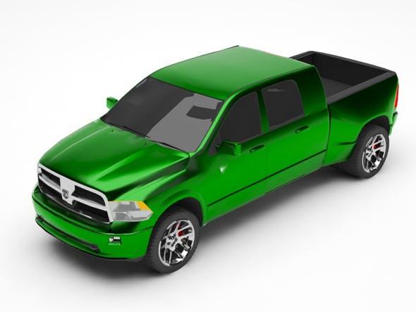 Dodge ram - 3DOcean Item for Sale