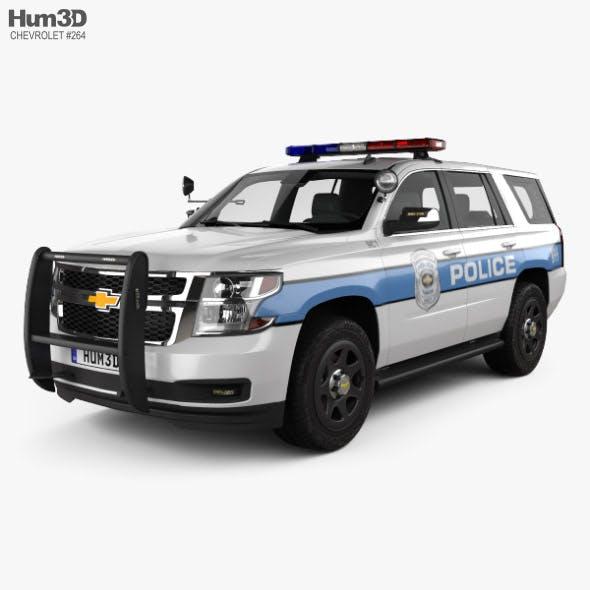 Chevrolet Tahoe Police 2016 - 3DOcean Item for Sale