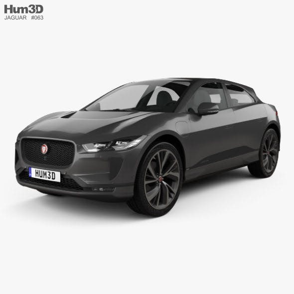 Jaguar I-Pace EV400 HSE 2019 - 3DOcean Item for Sale