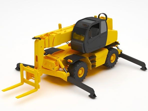 Forktruck - 3DOcean Item for Sale