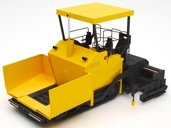 Road paver - 3DOcean Item for Sale
