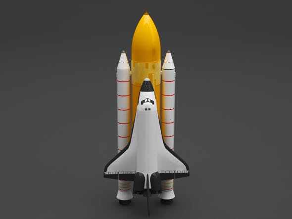space shuttle - 3DOcean Item for Sale