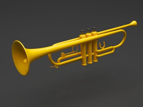 Trumpet - 3DOcean Item for Sale