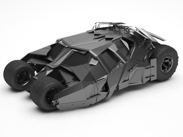 Bat mobile - 3DOcean Item for Sale