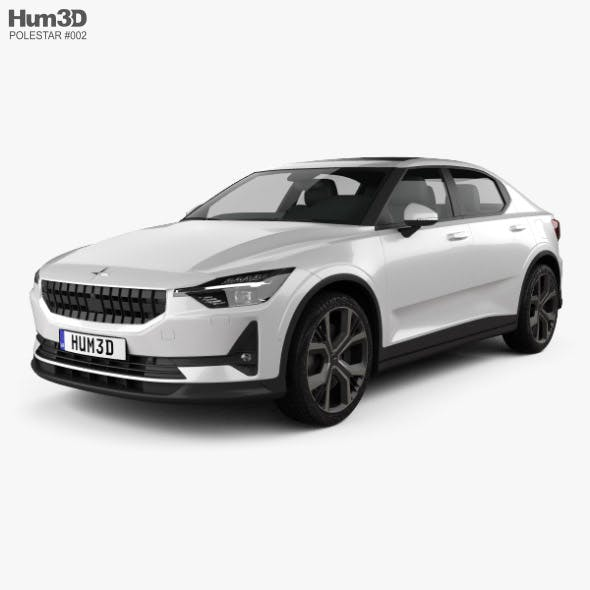 Polestar 2 2019 - 3DOcean Item for Sale