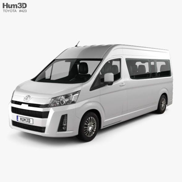 Toyota Hiace Passenger Van L2H2 GL 2019 - 3DOcean Item for Sale