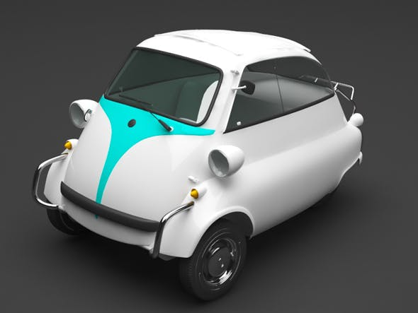 small car - 3DOcean Item for Sale