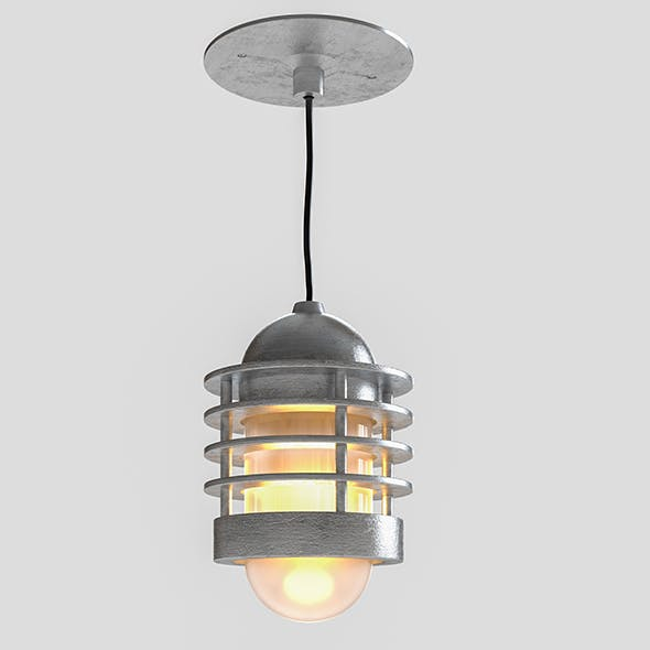 Loft lamp - 3DOcean Item for Sale