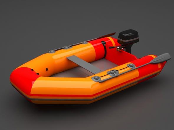 Boat - 3DOcean Item for Sale