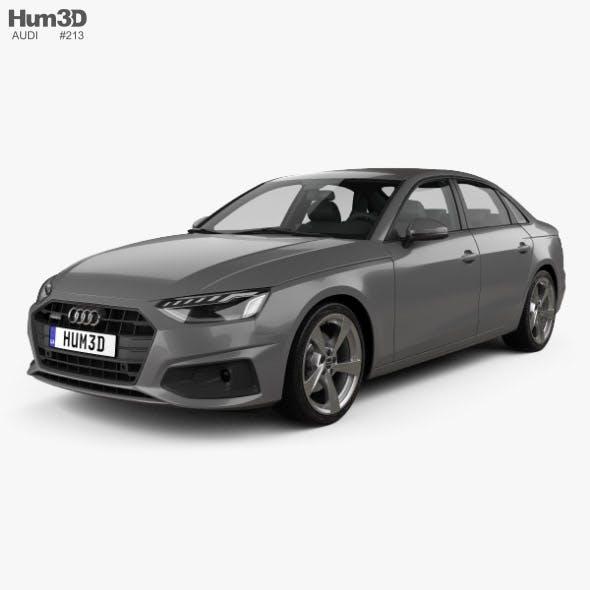 Audi A4 sedan 2019 - 3DOcean Item for Sale