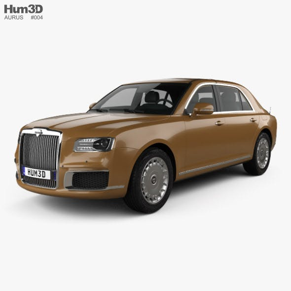 Aurus Senat sedan 2018 - 3DOcean Item for Sale