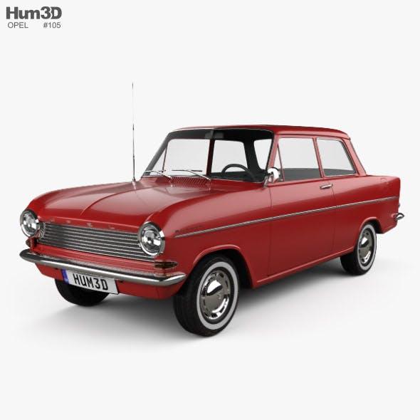 Opel Kadett 1962
