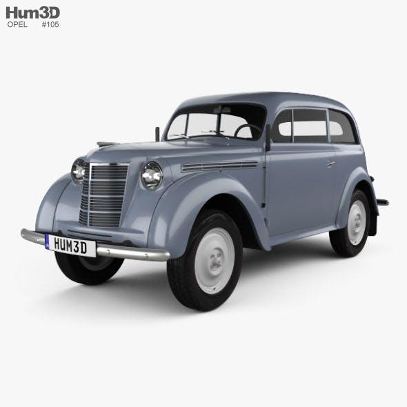 Opel Kadett 2-door sedan 1938 - 3DOcean Item for Sale