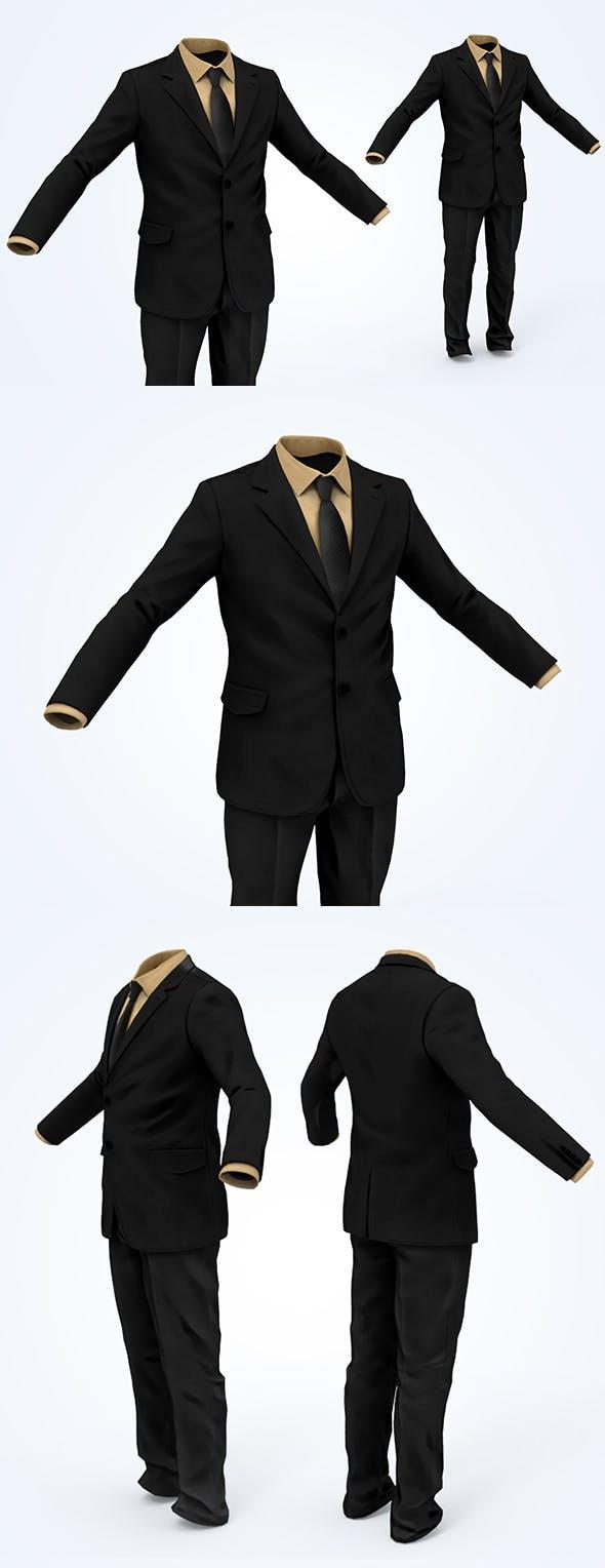 Business Suit Man - 3DOcean Item for Sale