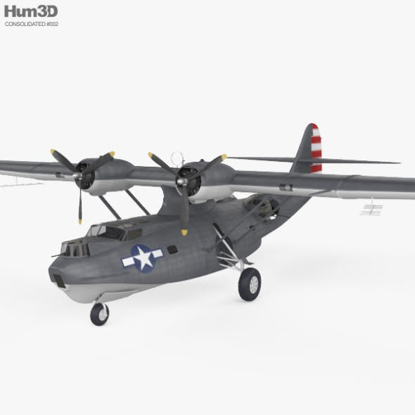 Consolidated PBY Catalina - 3DOcean Item for Sale