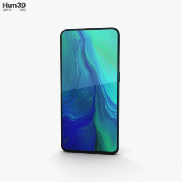 Oppo Reno 10x zoom Ocean Green - 3DOcean Item for Sale