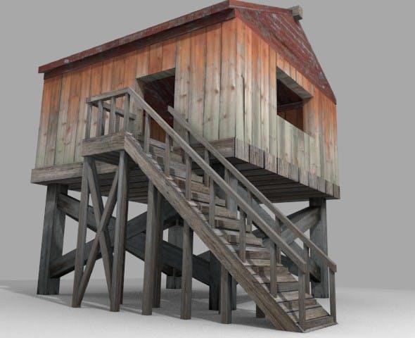 Wooden Shack - 3DOcean Item for Sale
