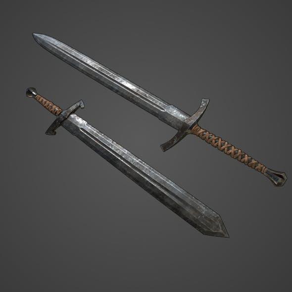 Generic Medieval Swords Set - 3DOcean Item for Sale