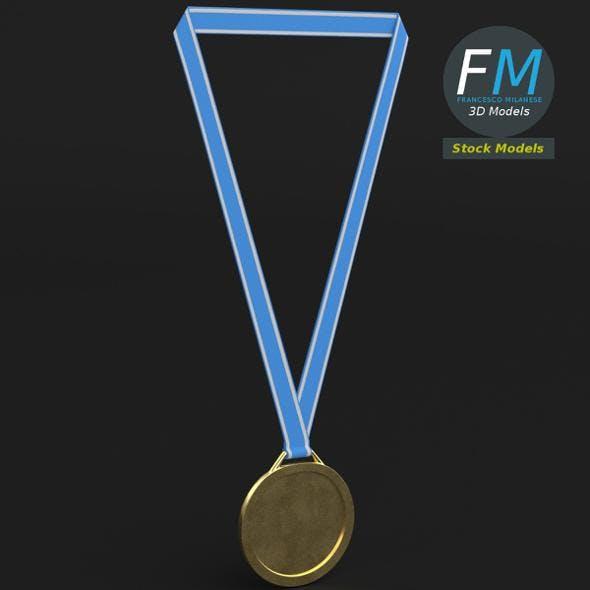 Sport medal - 3DOcean Item for Sale