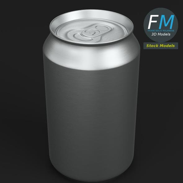 Closed soda can