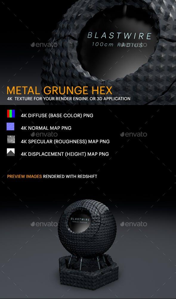 Metal Grunge Hex - 3DOcean Item for Sale
