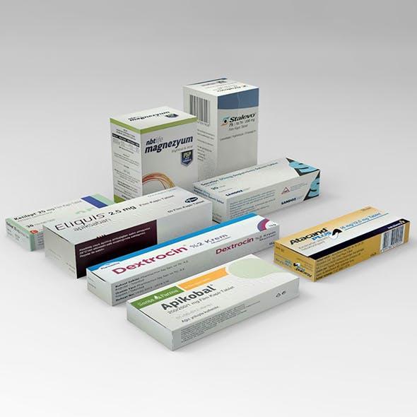 Medicine Pack - 3DOcean Item for Sale