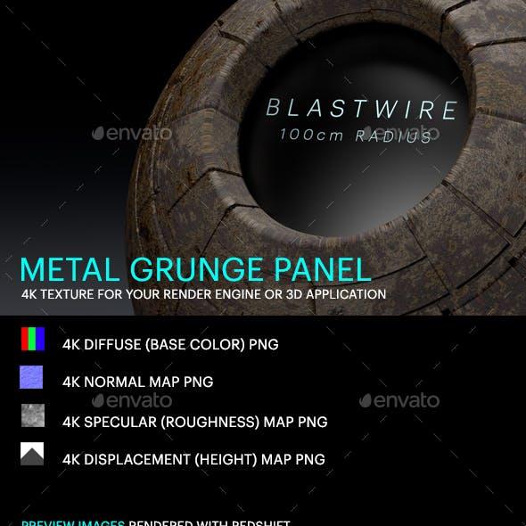 Metal Grunge Panel