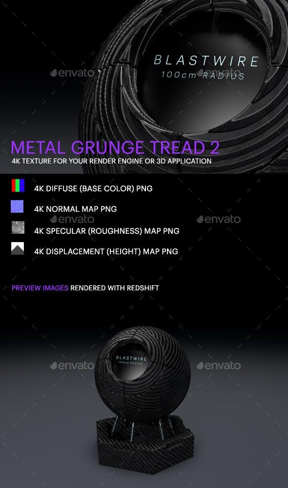 Metal Grunge Tread 2 - 3DOcean Item for Sale