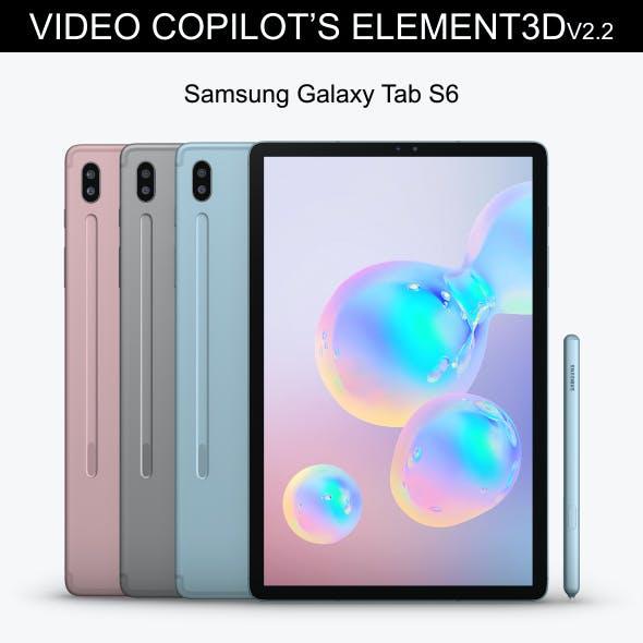 Element3D - Samsung Galaxy Tab S6
