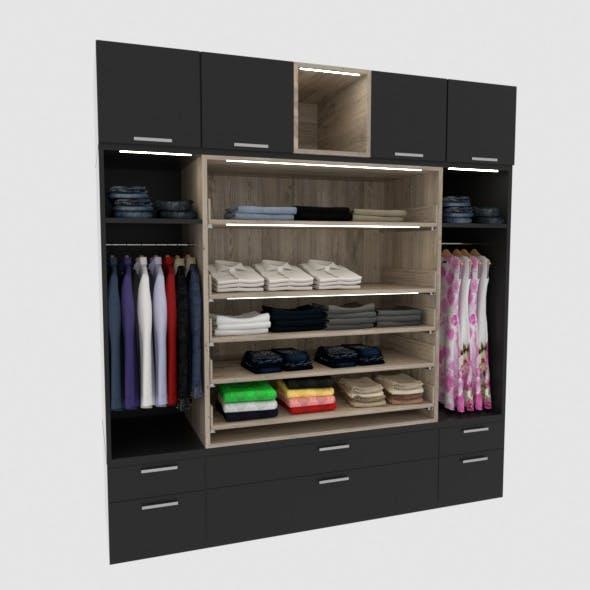 Complete modern dressing - 3DOcean Item for Sale