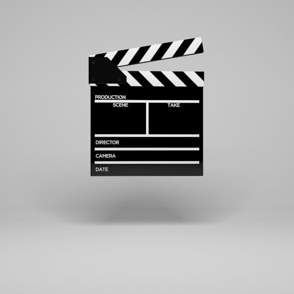 Movie Clapper Board - 3DOcean Item for Sale