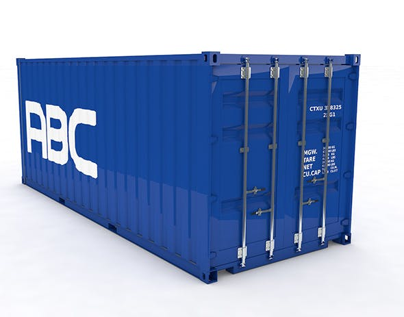Container Ship 20ft Animated - 3DOcean Item for Sale