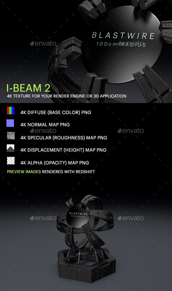 I-Beam 2 - 3DOcean Item for Sale