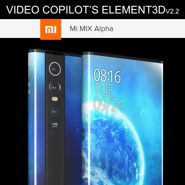 Element3D - Xiaomi Mi Mix Alpha