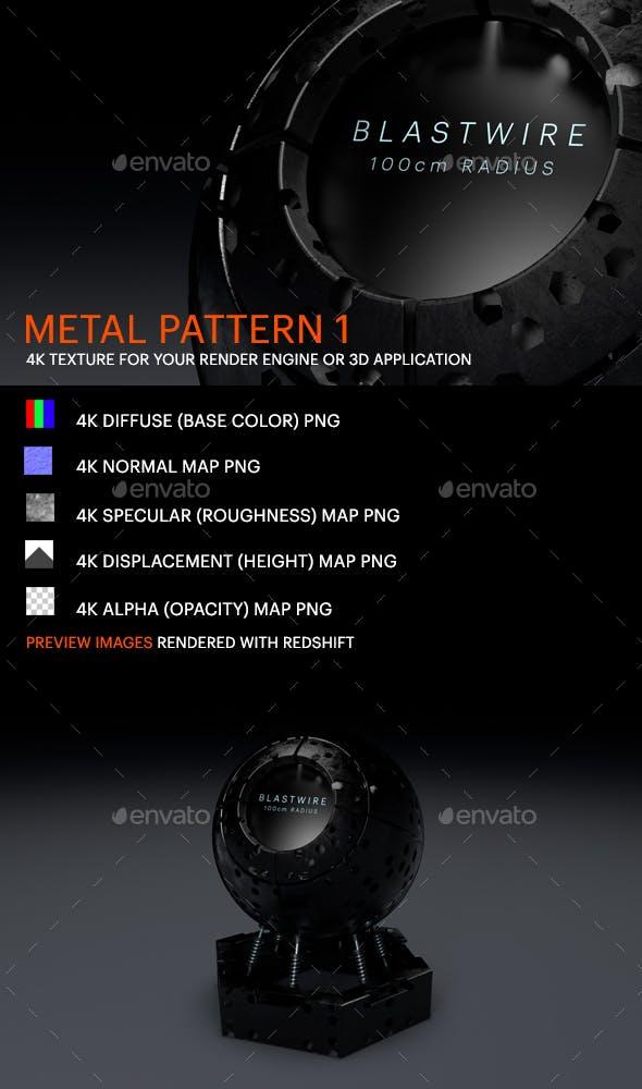 Metal Pattern 1 - 3DOcean Item for Sale