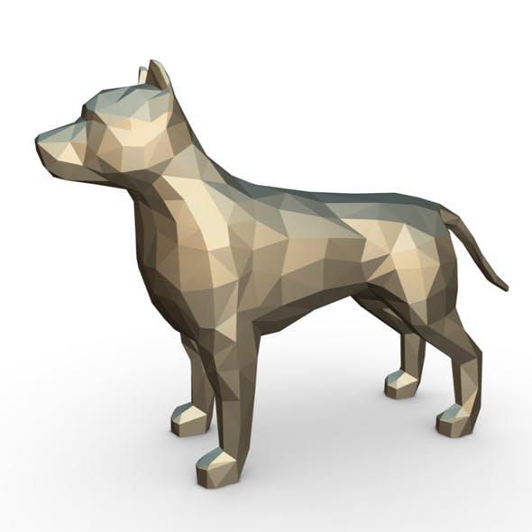 Pit bull figure - 3DOcean Item for Sale