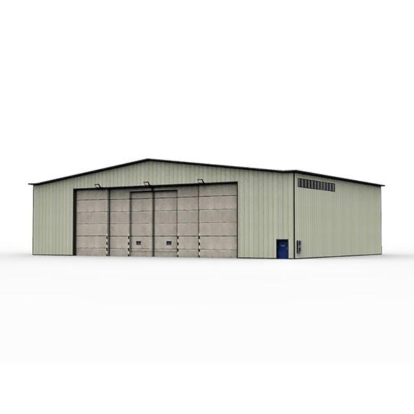 Hangar Military - 3DOcean Item for Sale
