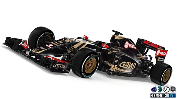 Lotus E23 F1 - 3DOcean Item for Sale