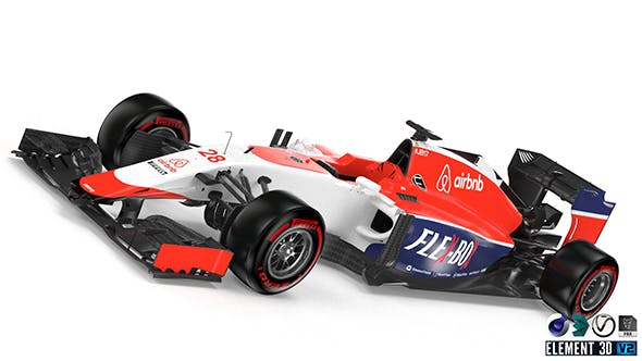 Marussia MR03 B - 3DOcean Item for Sale