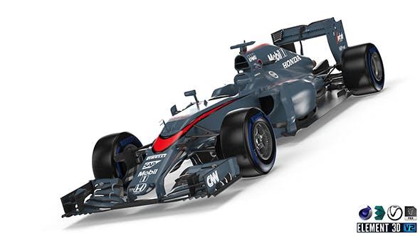 McLaren MP4-30 - 3DOcean Item for Sale