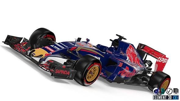 Toro Rosso STR10 - 3DOcean Item for Sale